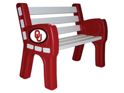 Oklahoma Sooners Imperial Park Bench