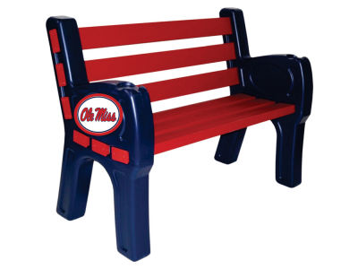 Ole Miss Rebels Imperial Park Bench