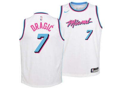 Miami Heat Goran Dragic Nike NBA Youth City Edition Swingman Jersey