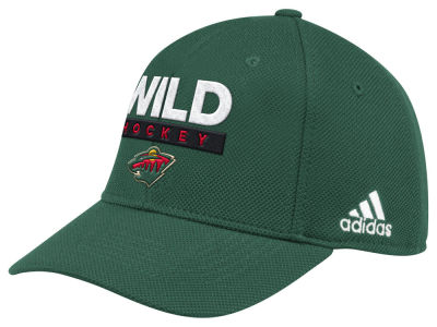 Minnesota Wild adidas 2018 NHL Stanley Cup Playoff Patch Cap