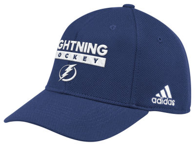 Tampa Bay Lightning adidas 2018 NHL Stanley Cup Playoff Patch Cap