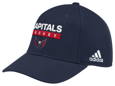 Washington Capitals adidas 2018 NHL Stanley Cup Playoff Patch Cap