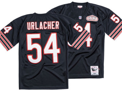 Chicago Bears Brian Urlacher Mitchell & Ness NFL Men's Authentic Football Jersey