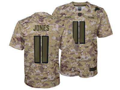 Atlanta Falcons Julio Jones Nike 2018 NFL Youth Salute To Service Jersey