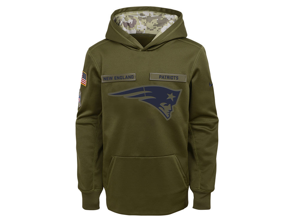 4182e579bc1 ... pullover hoodie coupon code for new england patriots nike 2018 nfl  youth salute to service therma hoodie 2c236 ...