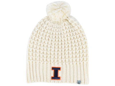 Illinois Fighting Illini Top of the World NCAA Women's Slouch Pom Knit