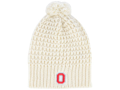 Ohio State Buckeyes Top of the World NCAA Women's Slouch Pom Knit