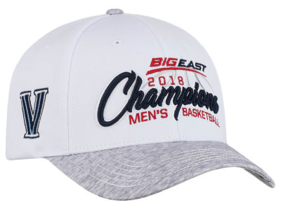 Villanova Wildcats Top of the World 2018 NCAA Big East Tourney Champs Cap