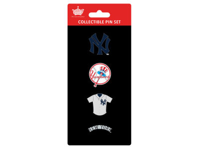 New York Yankees Logo Evolution 4 Pin Set