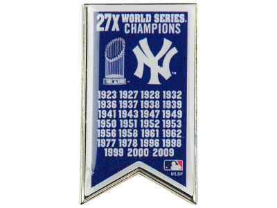 New York Yankees Championship Banner Pin
