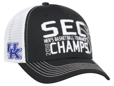 Kentucky Wildcats Top of the World 2018 NCAA SEC Tourney Champs Cap