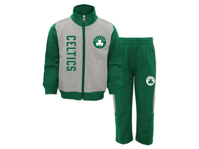 Boston Celtics Outerstuff NBA Toddler On the Line Pant Set