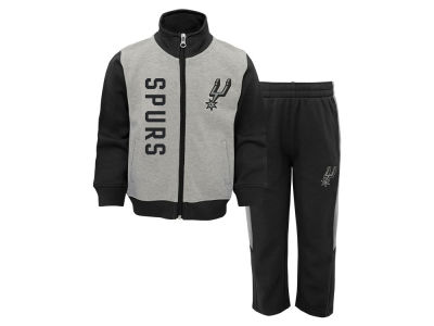 San Antonio Spurs Outerstuff NBA Toddler On the Line Pant Set