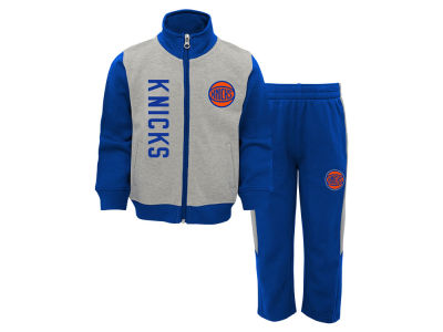 New York Knicks Outerstuff NBA Toddler On the Line Pant Set