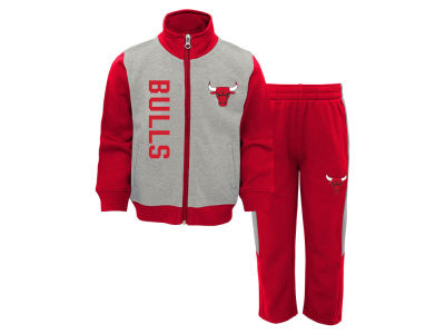 Chicago Bulls Outerstuff NBA Toddler On the Line Pant Set