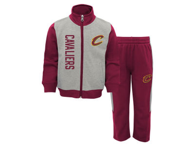 Cleveland Cavaliers Outerstuff NBA Infant On the Line Pant Set