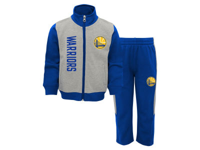 Golden State Warriors Outerstuff NBA Infant On the Line Pant Set