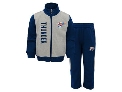 Oklahoma City Thunder Outerstuff NBA Infant On the Line Pant Set