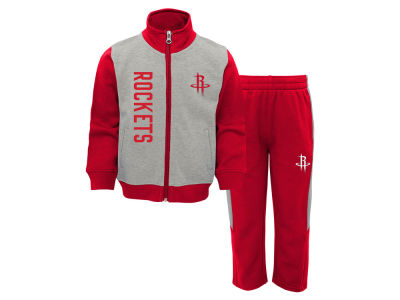 Houston Rockets Outerstuff NBA Infant On the Line Pant Set