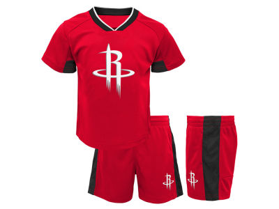 Houston Rockets Outerstuff NBA Toddler Double Dribble Short Set