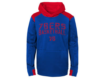 Philadelphia 76ers Outerstuff NBA Youth Off The Court Hoodie