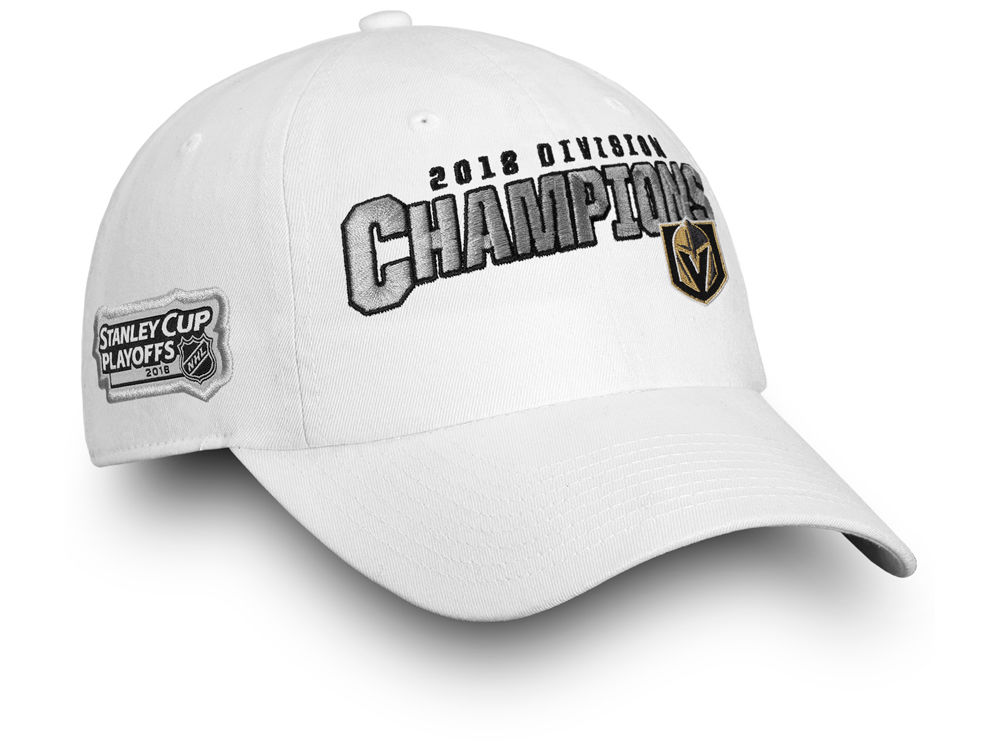 0c5b65a8611 Vegas Golden Knights NHL 2018 NHL Division Champ Adjustable Cap ...