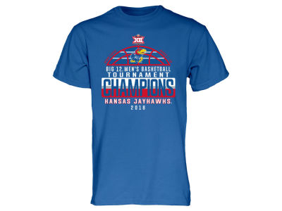 Kansas Jayhawks 2018 NCAA Men's Big 12 Locker Room T-Shirt