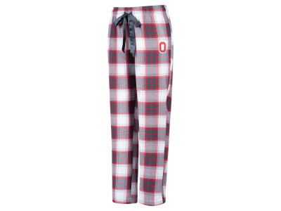 Ohio State Buckeyes Top of the World NCAA Women's Plaid Flannel Pant