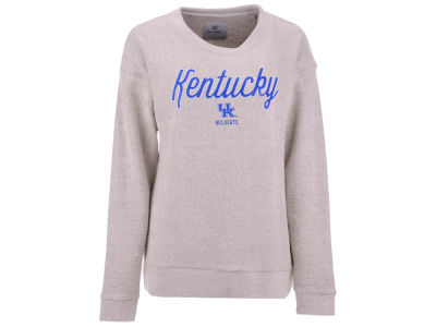 Kentucky Wildcats Top of the World NCAA Women's Vintage Boucle Crew Sweatshirt