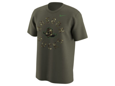Oregon Ducks Nike NCAA Men's Camo Legend Logo T-Shirt