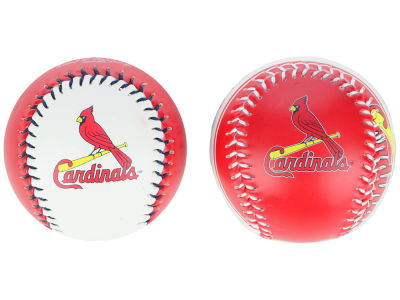 St. Louis Cardinals Double Play Soft-Core Baseball 2-Pack