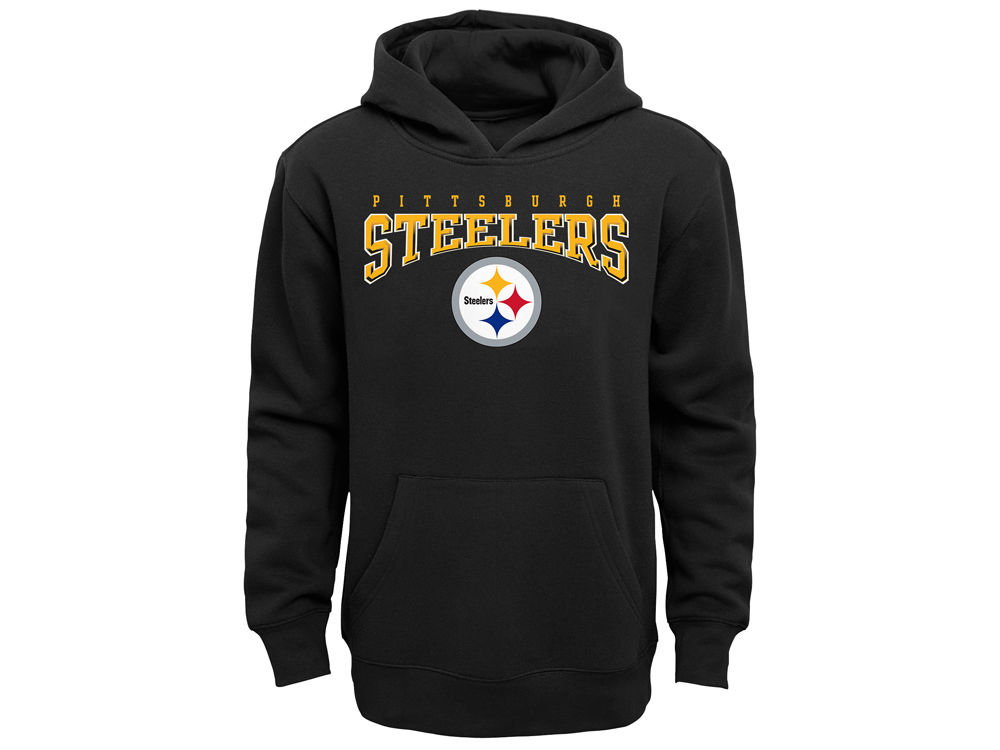 Pittsburgh Steelers Outerstuff NFL Youth Fleece Hoodie  6e8104af4