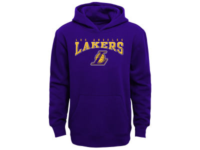 Los Angeles Lakers Outerstuff NBA Youth Fleece Hoodie be28e9d88