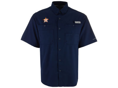 Houston Astros Columbia MLB Men's Tamiami Shirt
