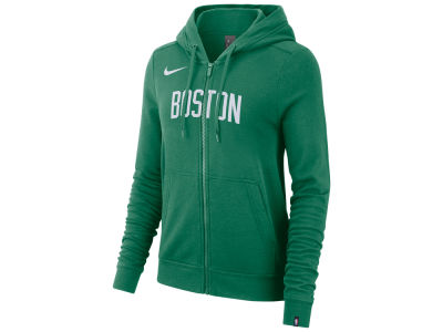 Boston Celtics Nike NBA Women's Full Zip Wordmark Hoodie