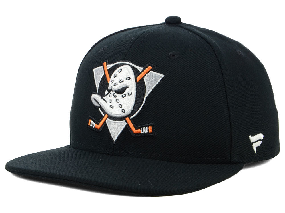 55013b71fad Anaheim Ducks NHL NHL Mighty Ducks Collection Fitted Cap