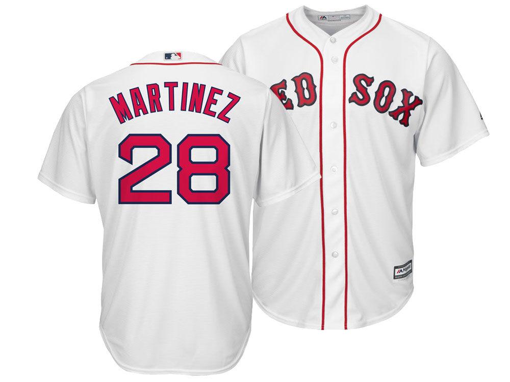 Boston Red Sox J. D. Martinez Majestic MLB Men s Player Replica Cool ... 0b67c15f658