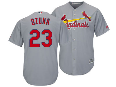 St. Louis Cardinals Marcell Ozuna Majestic MLB Men's Player Replica Cool Base Jersey