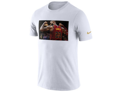 Cleveland Cavaliers Lebron James Nike NBA Men's Star Photo Reel T-shirt