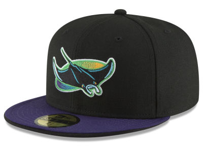 Tampa Bay Rays New Era MLB Turn Ahead The Clock 59FIFTY Cap