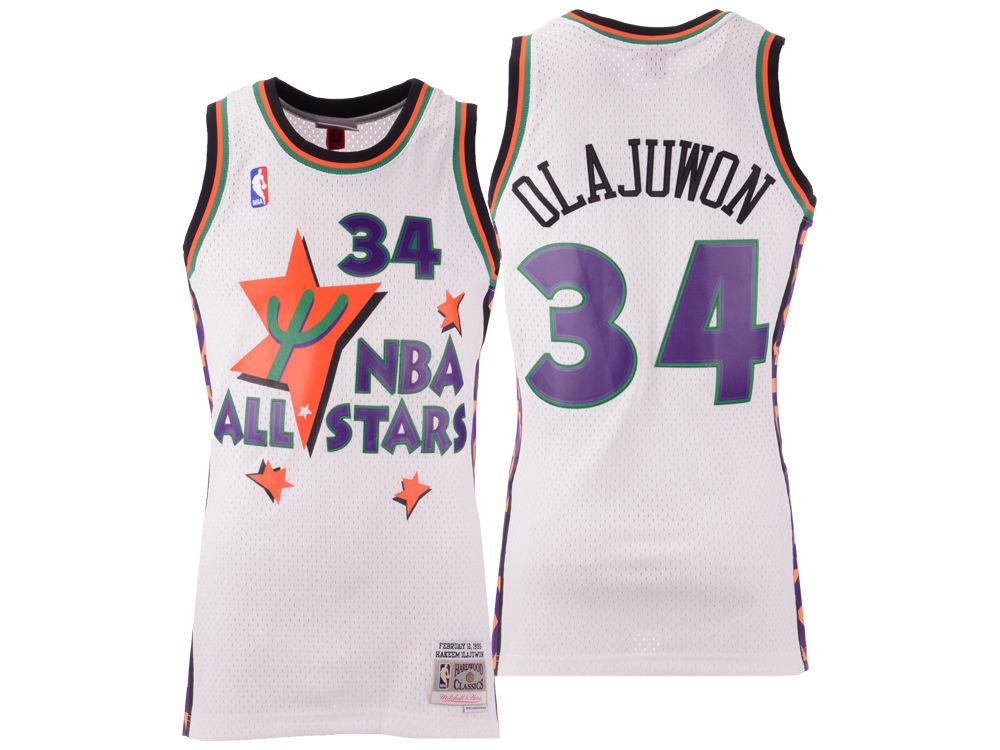 d0ad928b0 ... HAKEEM OLAJUWON Mitchell   Ness 1995 Men s All Star Swingman Jersey.  Top. NBA ...