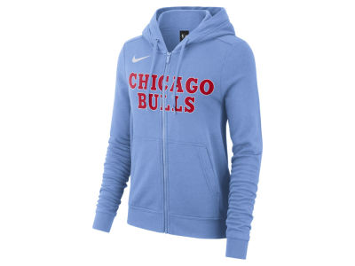 Chicago Bulls Nike NBA Women's City Edition Full Zip Hoodie