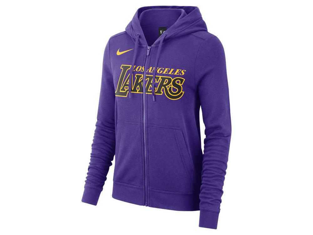 Los Angeles Lakers Nike NBA Women s City Edition Full Zip Hoodie ... b59e66361