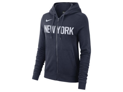 New York Knicks Nike NBA Women's City Edition Full Zip Hoodie