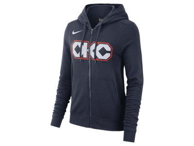 Oklahoma City Thunder Nike NBA Women's City Edition Full Zip Hoodie