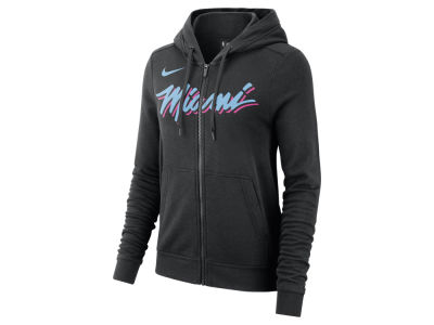 Miami Heat Nike NBA Women's City Edition Full Zip Hoodie