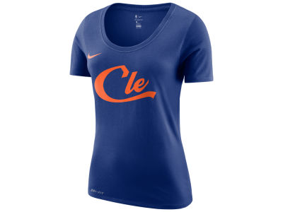 Cleveland Cavaliers Nike NBA Women's City Edition Logo T-Shirt