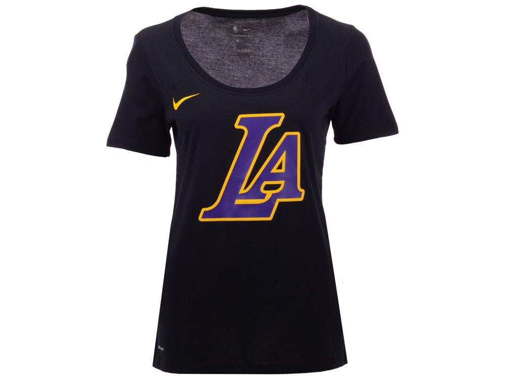 Los Angeles Lakers Nike NBA Women s City Edition Logo T-Shirt  376294edf