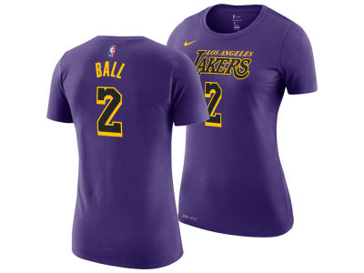 Los Angeles Lakers LONZO BALL Nike NBA Women's City Edition Player T-Shirt