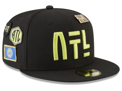 Atlanta Hawks New Era NBA City On-Court 59FIFTY Cap